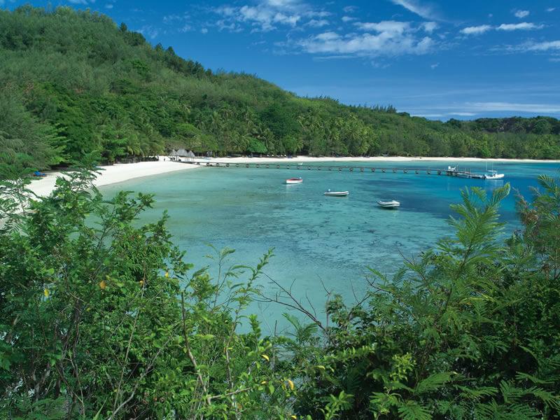Blue Lagoon on Turtle Island