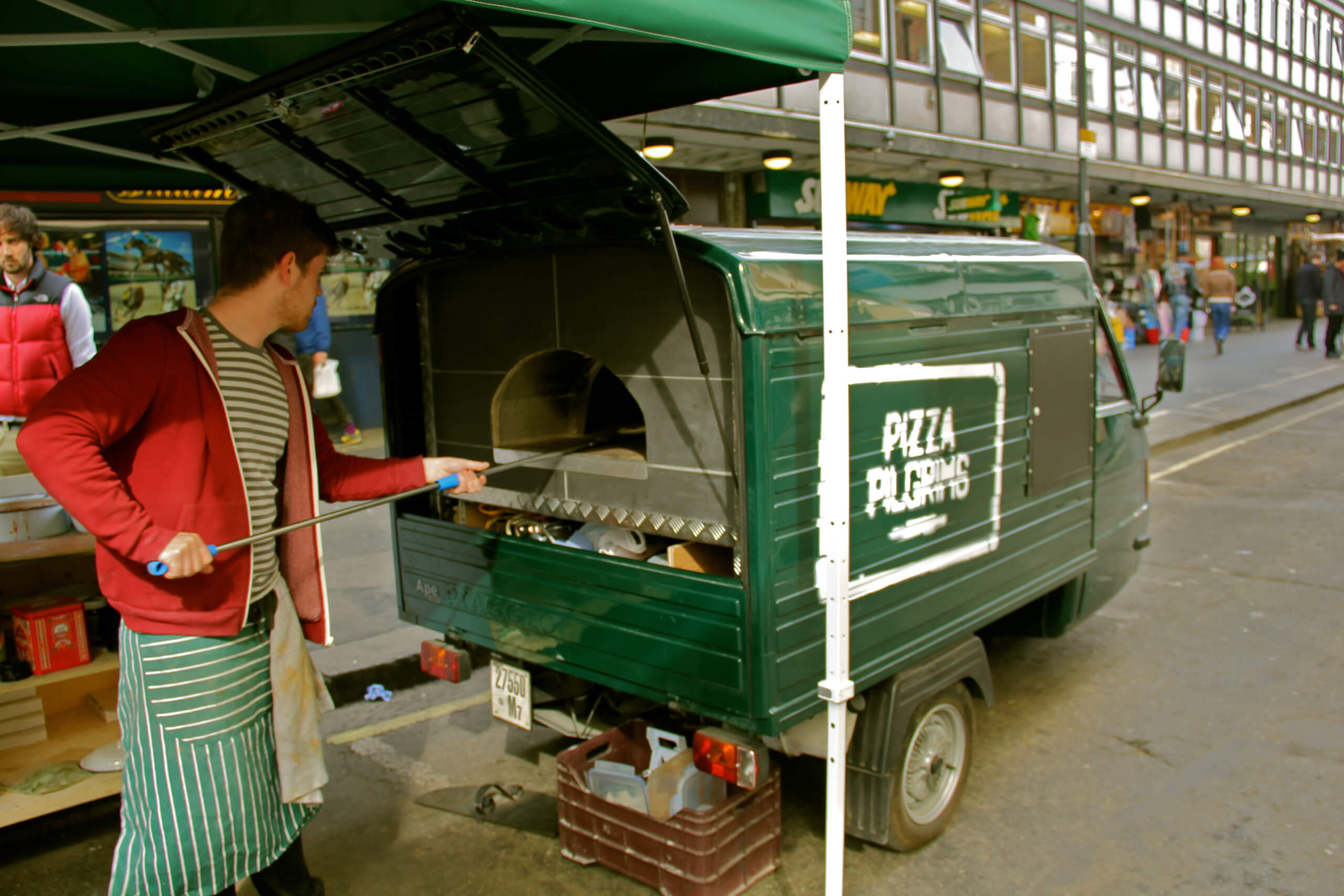 Pizza Pilgrims van, Start Your Own Pizza Business