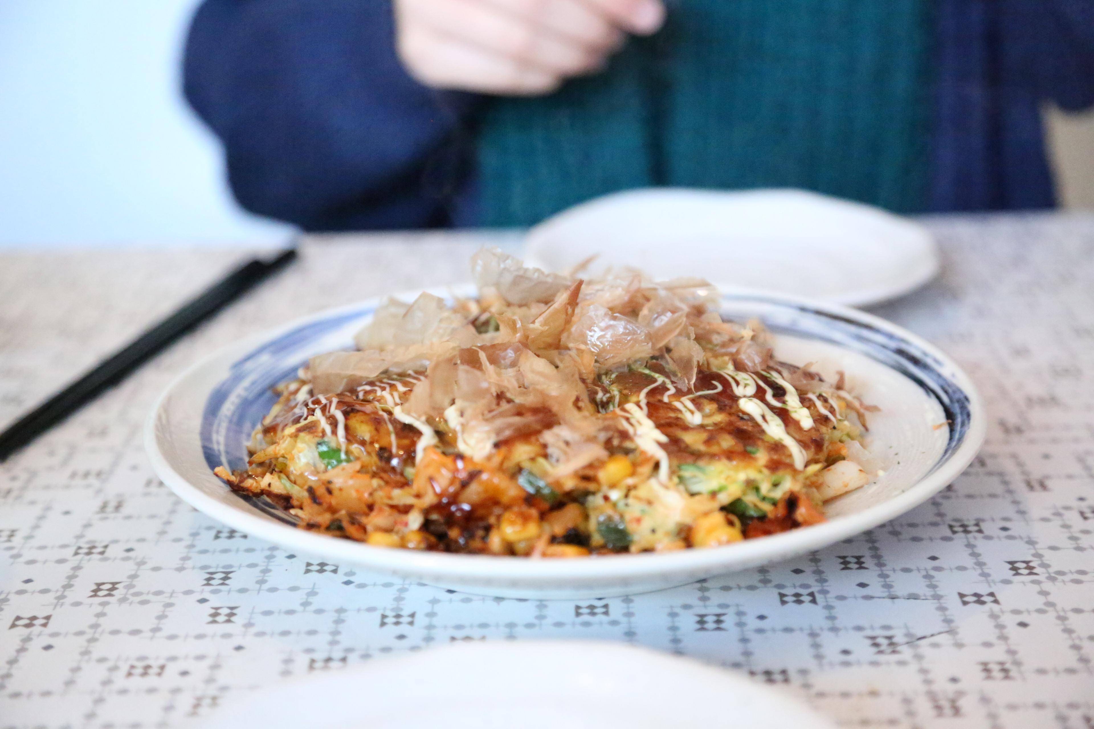 okan brixton review, okan brixton, Okonomiyaki, Okonomiyaki in london