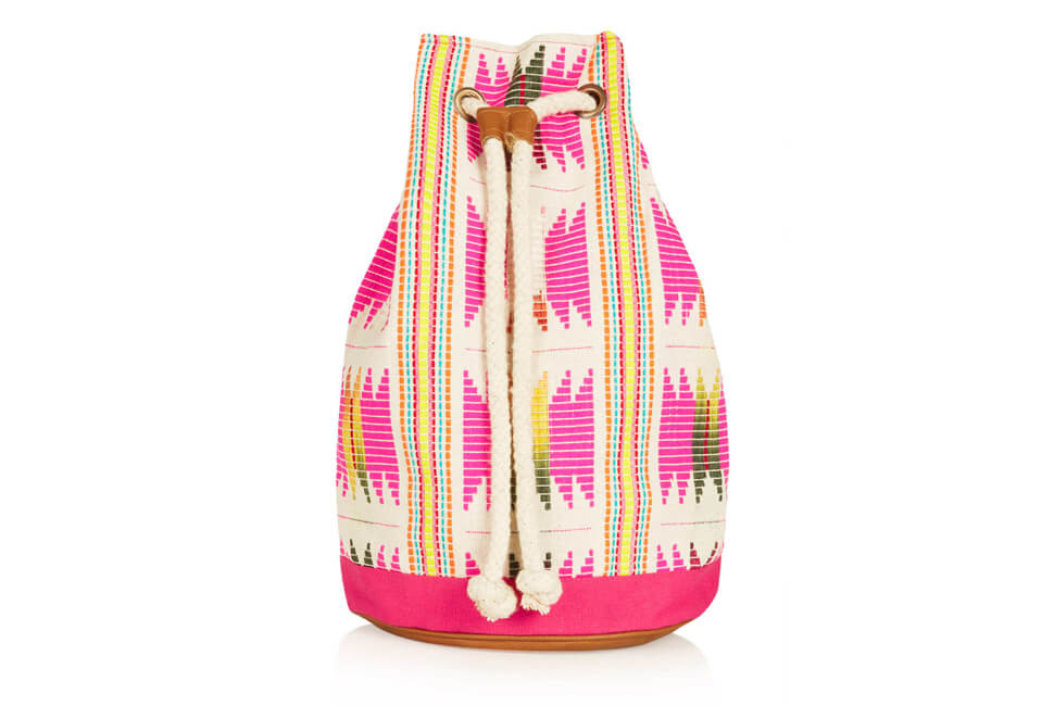backpack, zara, black, leather, rucksack, trendy, cool, trend report, fashion, beauty, womens, shopping, drawstring, philip lim, orange, 3.1, hemsley london, ipad, woven, floral, topshop, colourful, hippy, festival