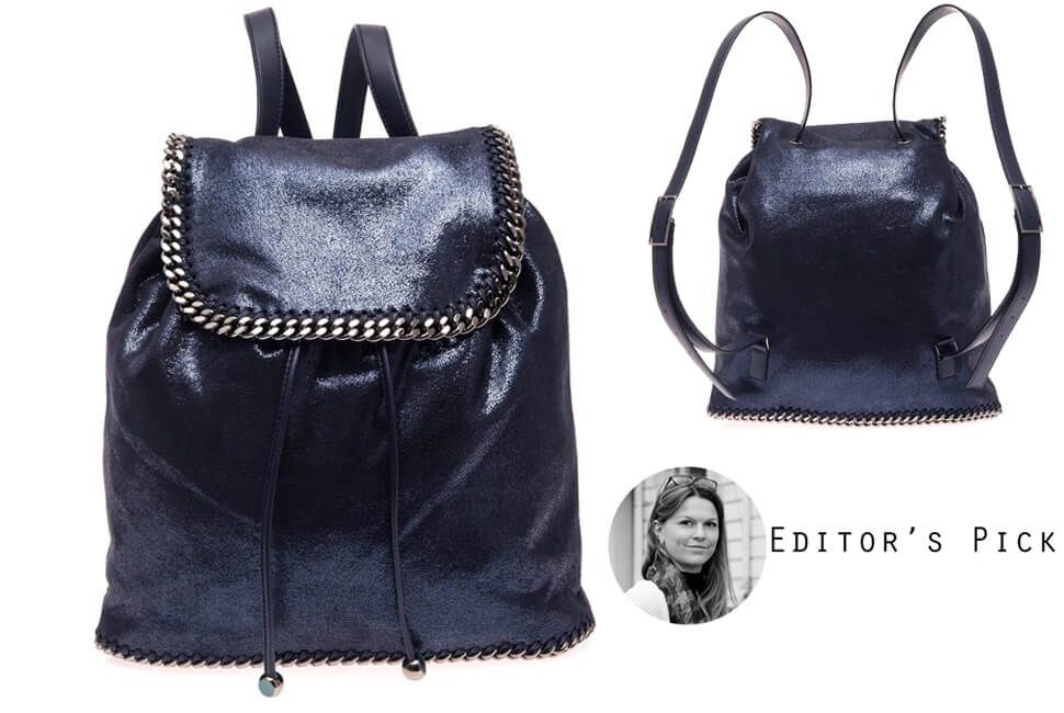 backpack, zara, black, leather, rucksack, trendy, cool, trend report, fashion, beauty, womens, shopping, drawstring, philip lim, orange, 3.1, hemsley london, ipad, woven, floral, topshop, colourful, hippy, festival, studded, suede, stella mccartney, black