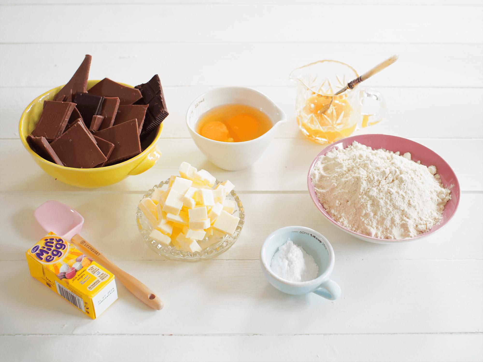 Chocolate Mini Egg Tart - About Time Magazine (1)