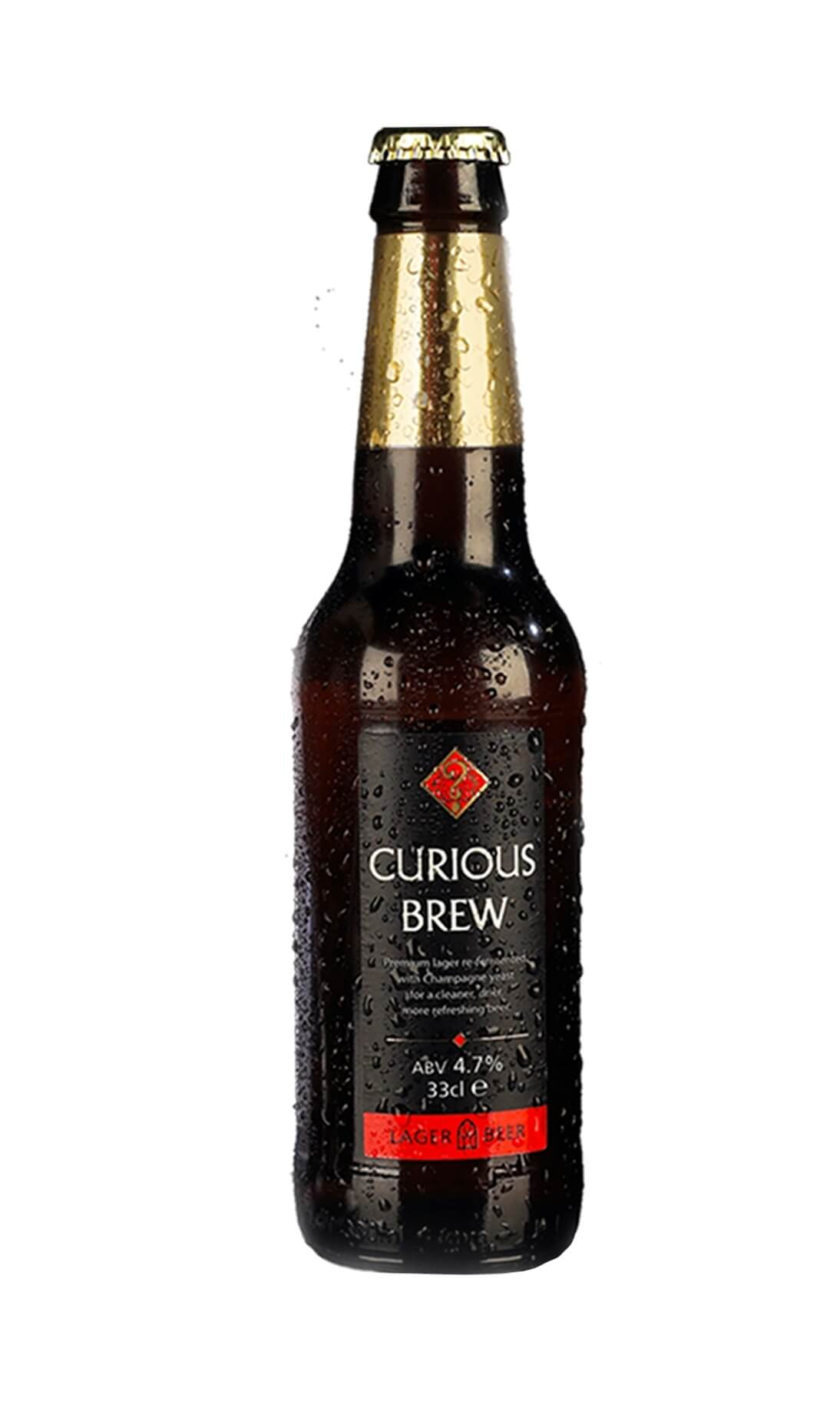 Curious Brew (plain bottle without reflection)