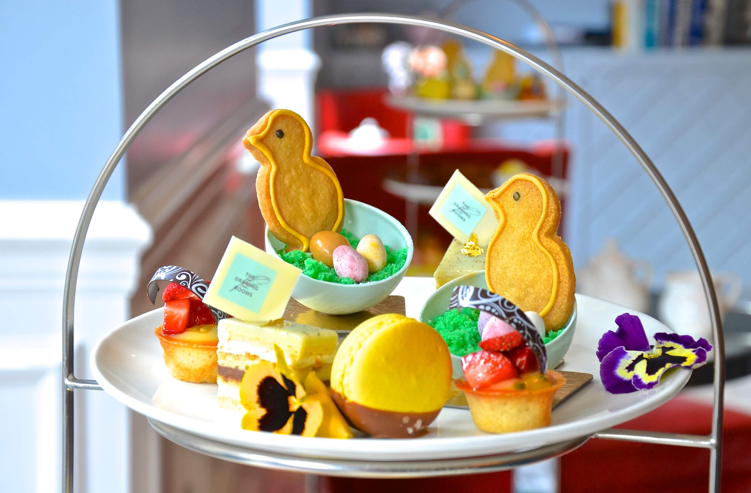 Ampersand, hotels, afternoon teas, afternoon tea in London, UK breaks, easter ideas, things to do, easter afternoon tea