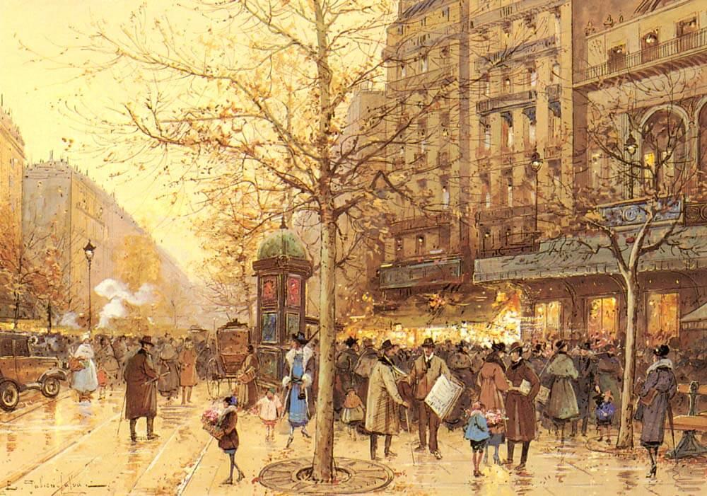 A_Paris_Street_Scene