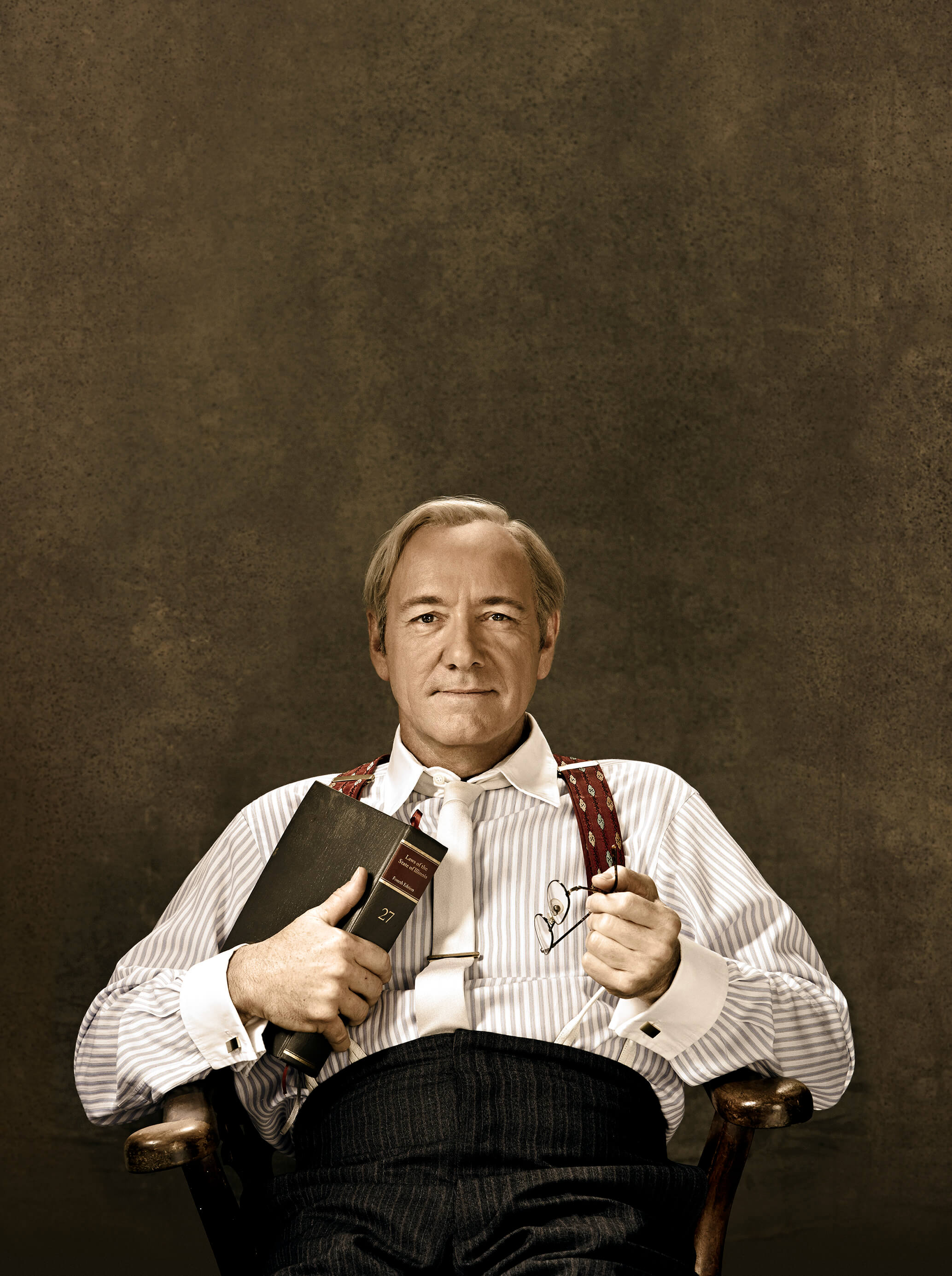 Kevin Spacey as Clarence Darrow Old Vic Theatre, Clarence Darrow at the Old Vic