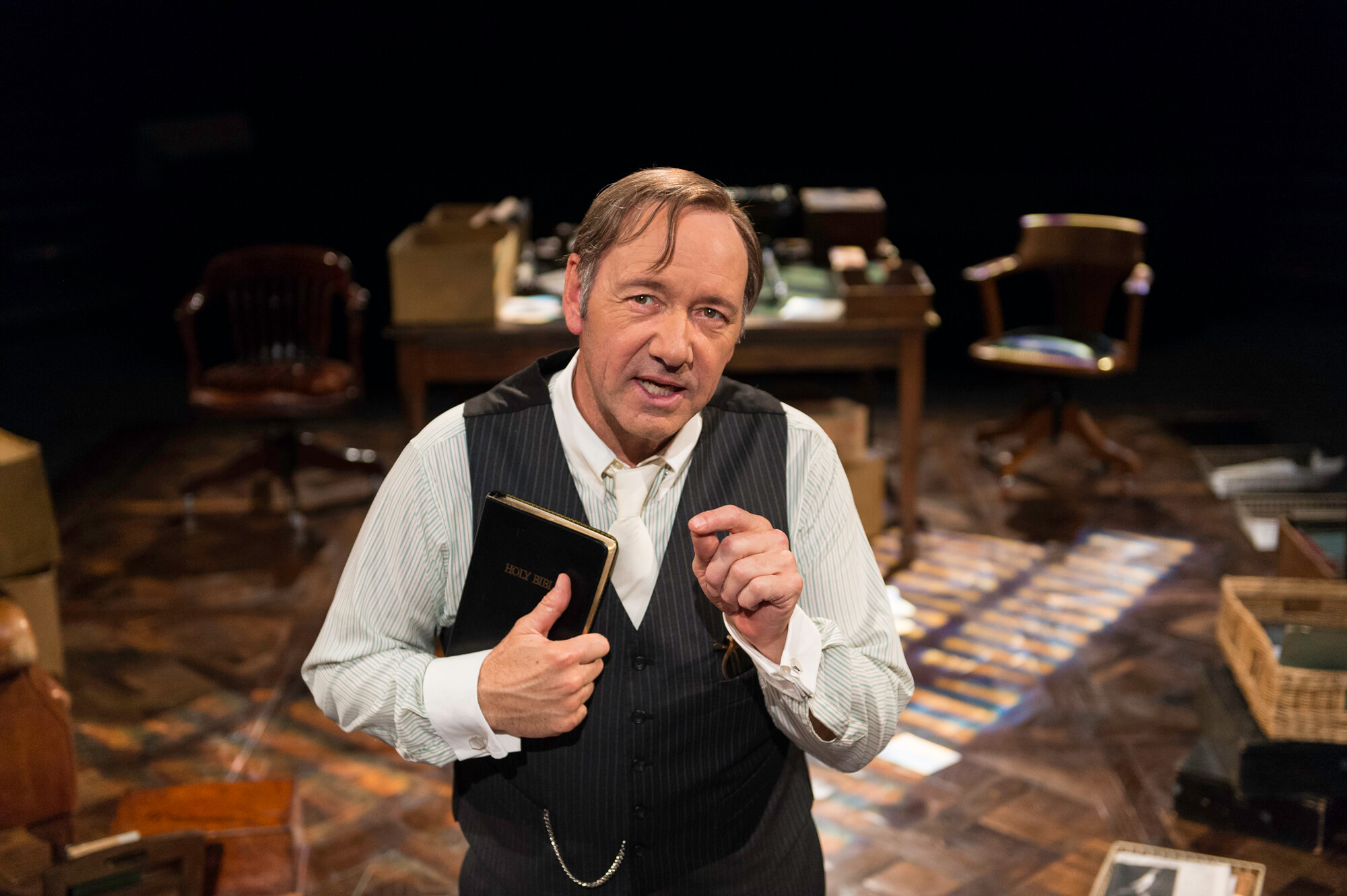 Kevin Spacey Clarence Darrow Theatre Old Vic. Clarence Darrow at the Old Vic