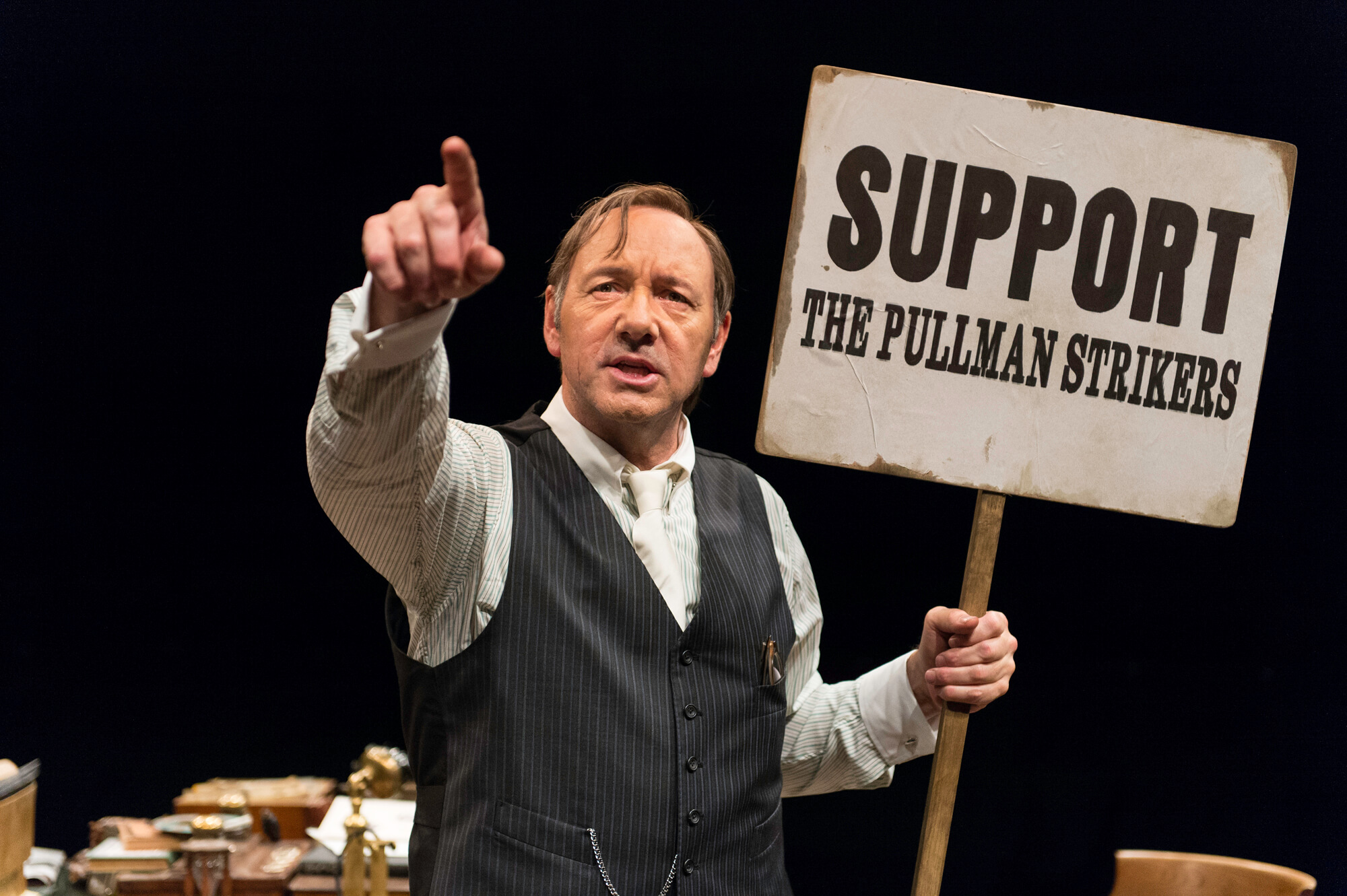 Kevin Spacey Clarence Darrow Old Vic Theatre, Clarence Darrow at the Old Vic