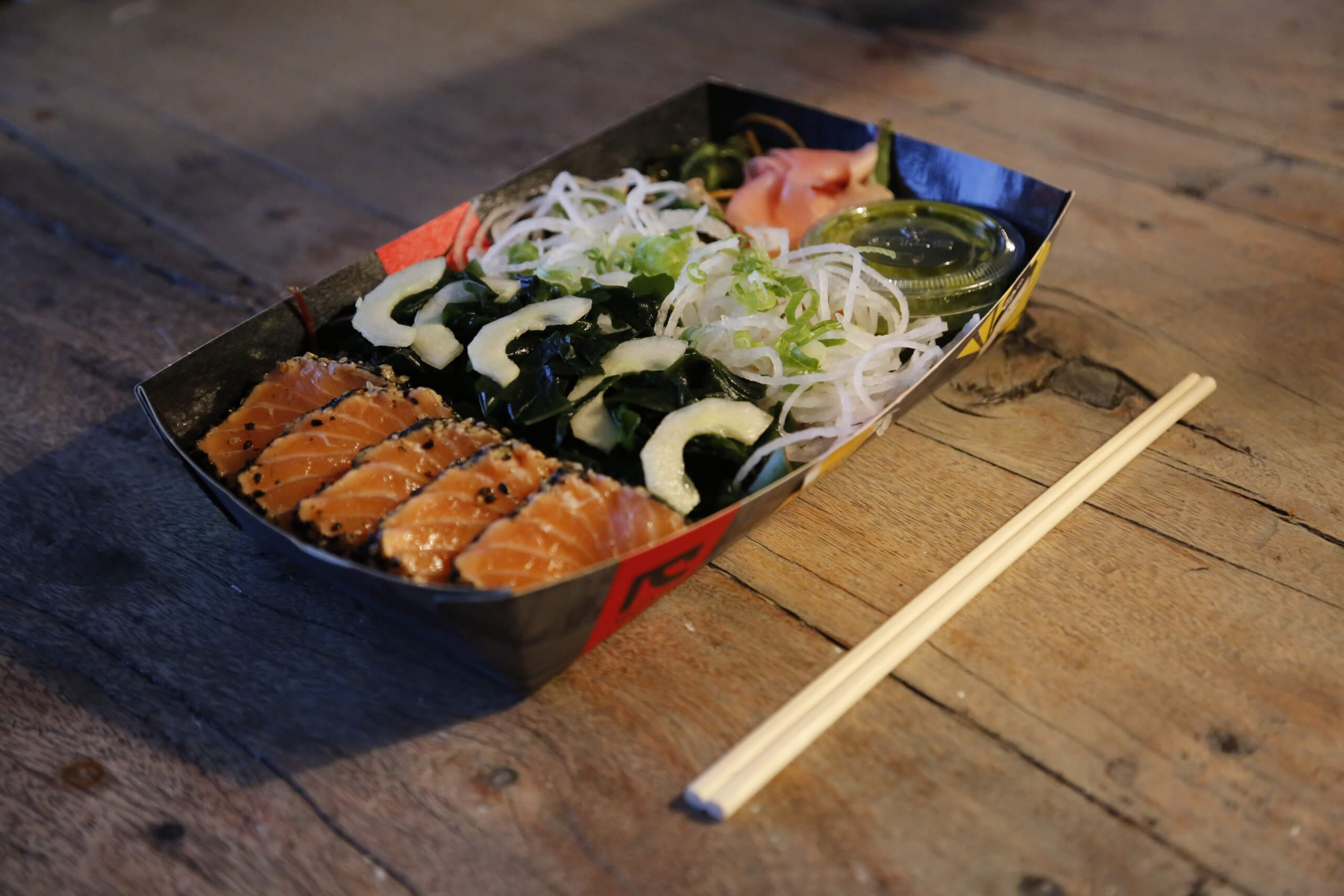 Best Salmon Sushi Boxes in London
