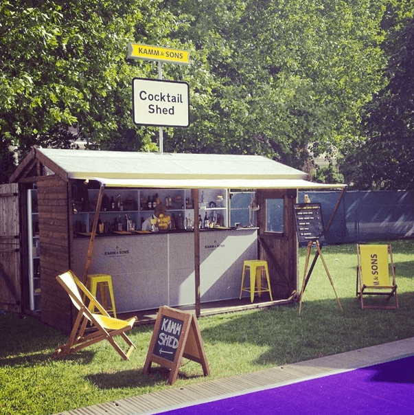 Photo Credit: Kamm and Sons - Instagram, taste of london, what to eat at taste of london, best food taste london, starter, main course, michelin star, beef, waygu beef, british, food, foodie, english, traditional, basil, tomatoes, fresh, healthy, local, regents park, food festival, special, event, pop up, restaurant, pasta, truffle, truffle tortelini, mushroom, cheese, parmesan, gorgonzola, walnuts, yummy, flesh and buns, green tea ice cream, matcha ice cream, matcha, dessert, pudding, weird and wonderul, kamm and sons, spirits, drinking, drinks, cocktail, booze, alcohol, aperitif
