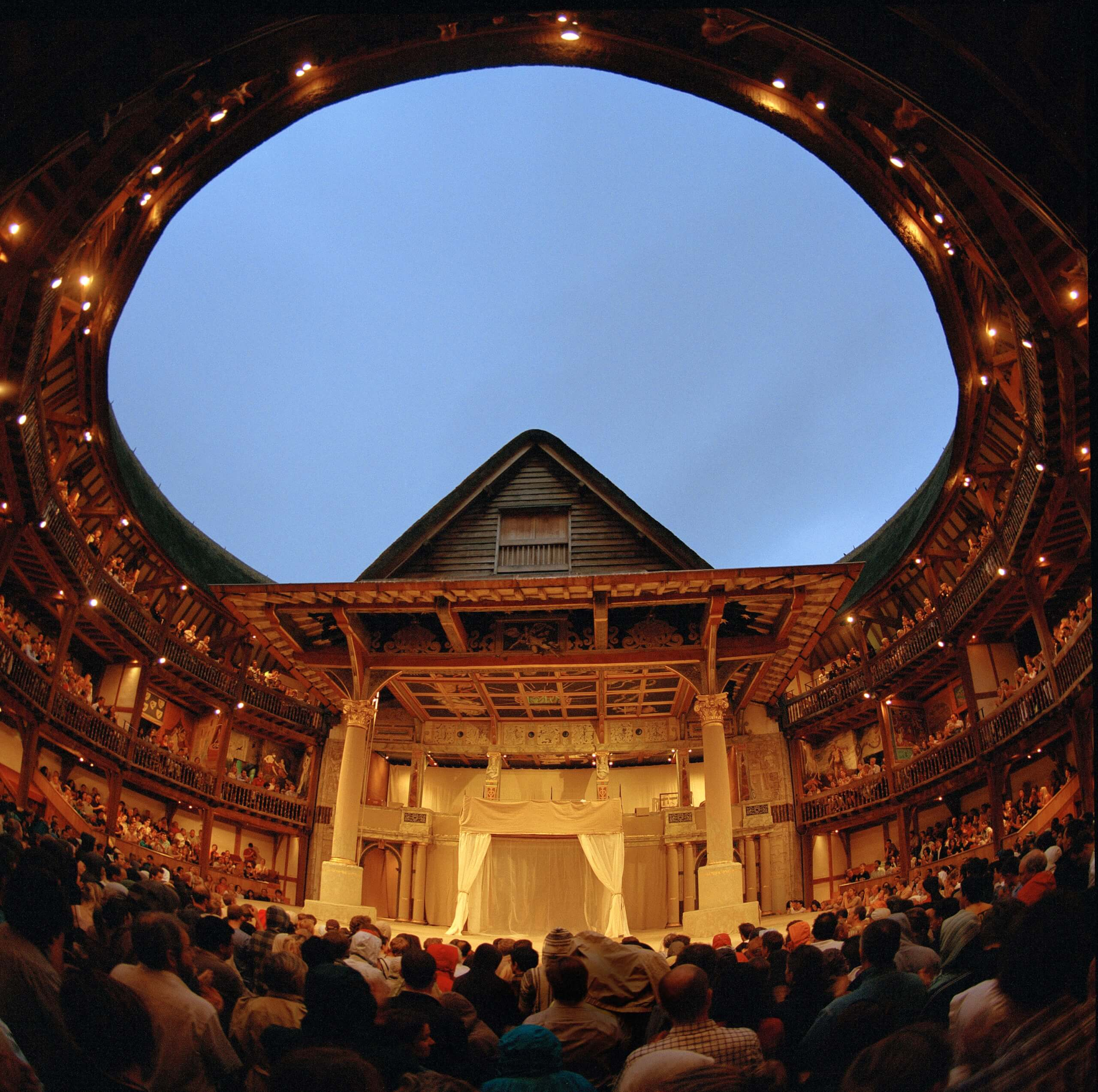 Shakespeare's Globe theatre outdoor open-air, Open-Air Theatre, Open-Air Theatre london
