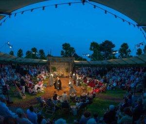 Grosvenor Park open-air outdoor theatre summer