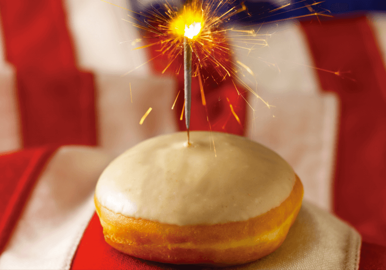 American Treats to Celebrate 4th July, american, 4th july, food, london, what's on in london, dining, special, events, doughnuts, pudding