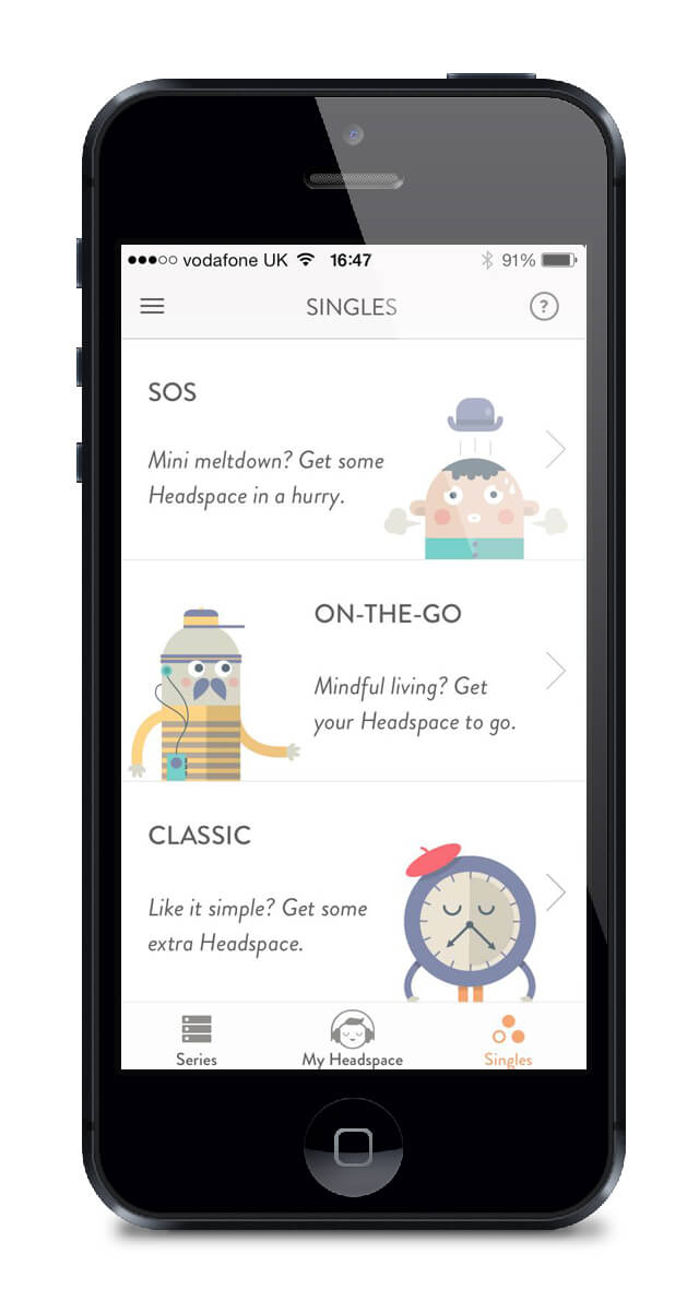 Headspace, Andy Puddicombe, mindfulness, meditation, app