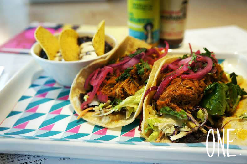 5 Things You Need to Eat This Week, Bite-Sized Summer Food, summer food, wahaca, southbank, street food, takeaway, burrito, mexican, pulled pork, fajitas, red onion, meat, spicy, about time magazine