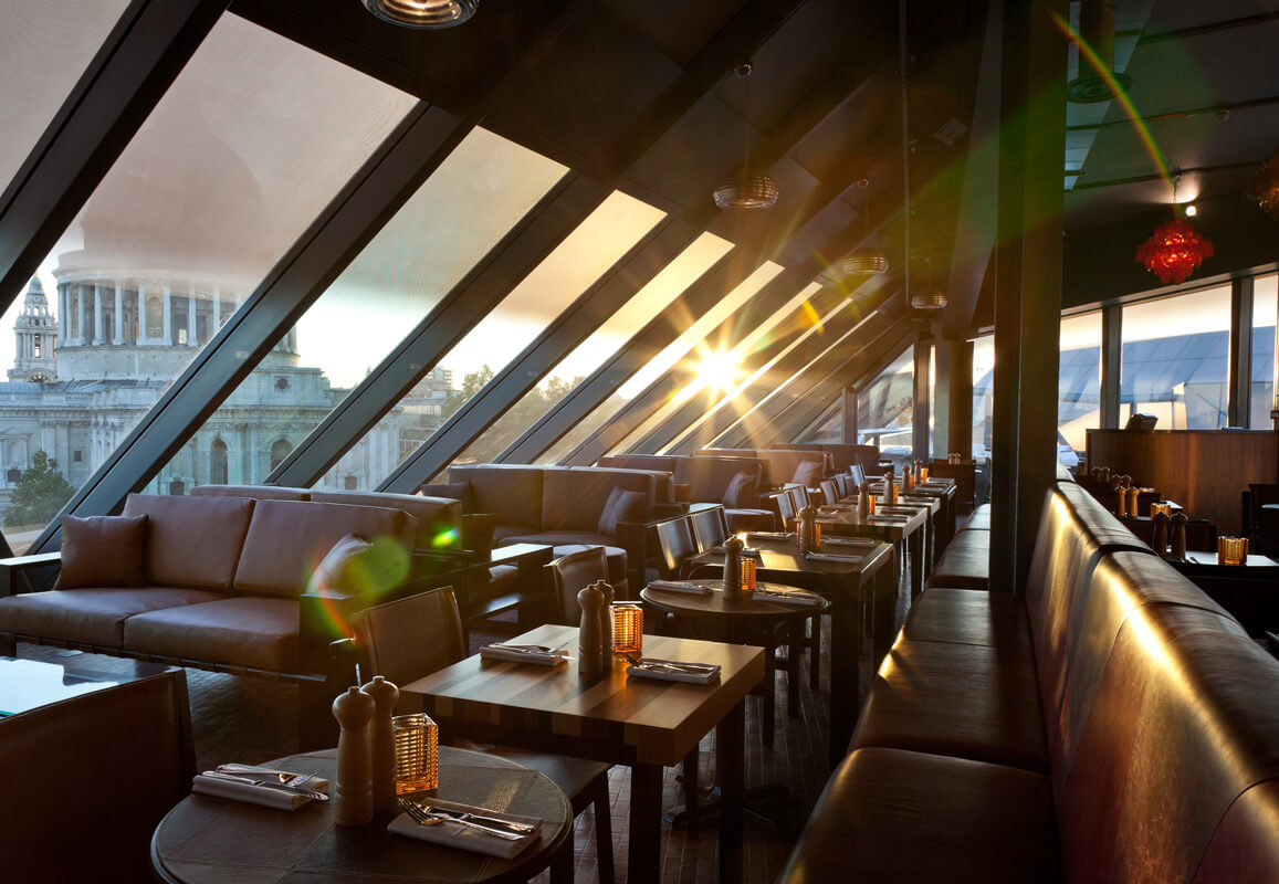 Top 10 rooftop bars in london about time magazine for Madison terrace