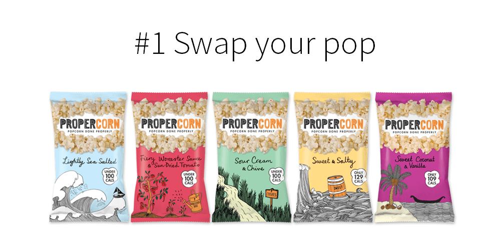 propercorn, popcorn