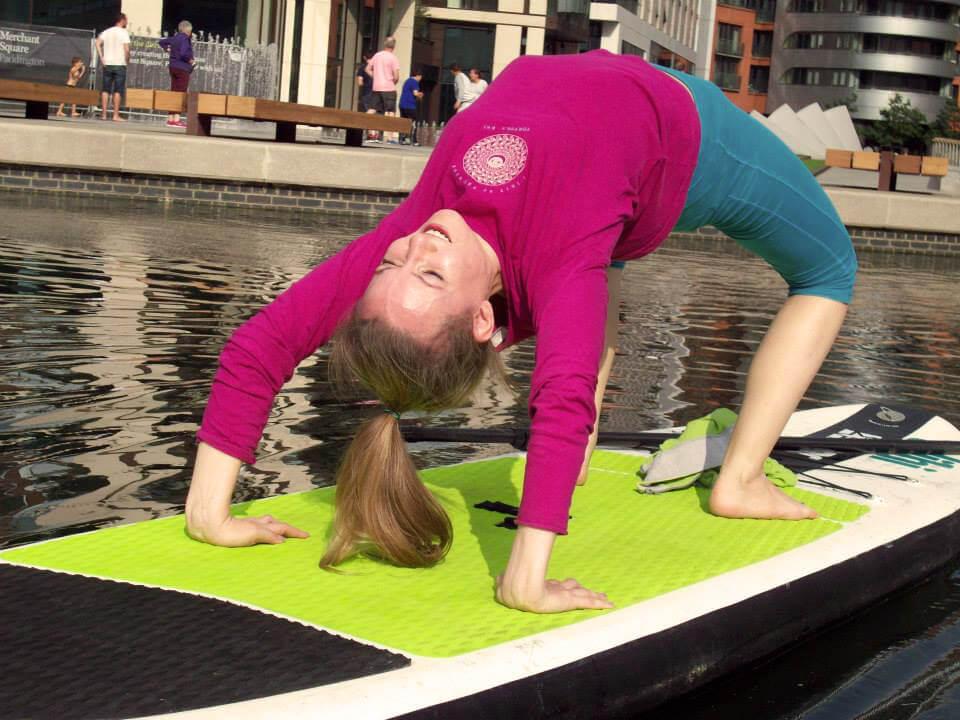 yoga, outdoor yoga, strange yoga, water yoga, sup yoga, yoga trends, shavasana