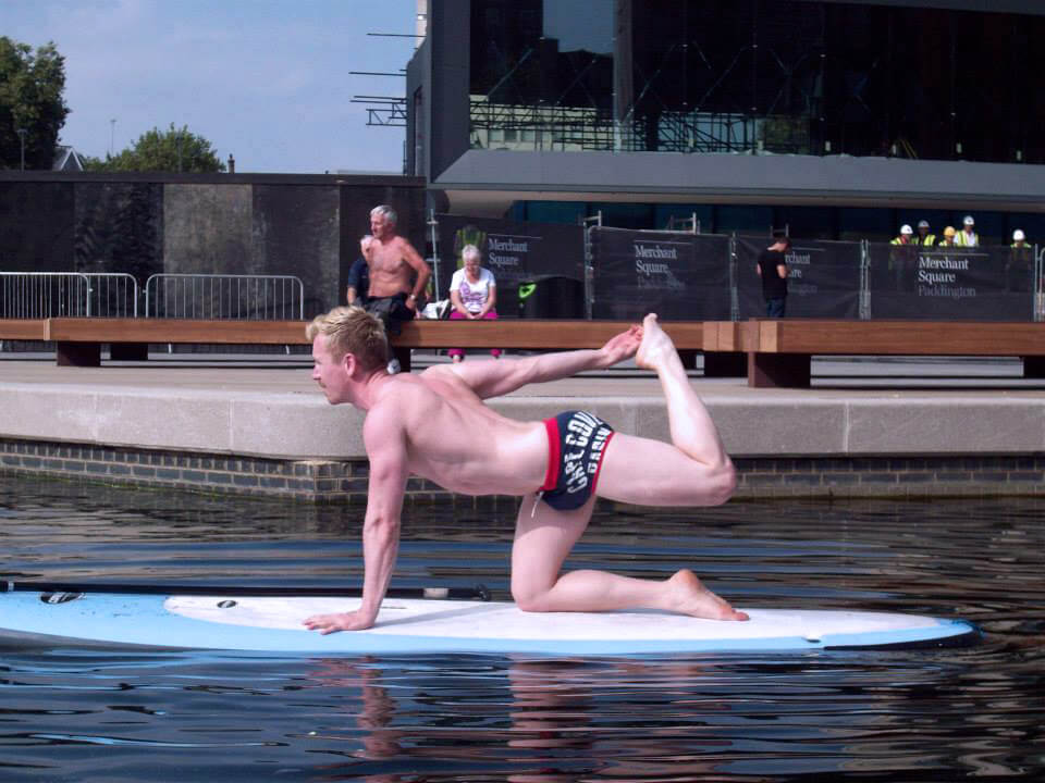 yoga, outdoor yoga, strange yoga, water yoga, sup yoga, yoga trends, shavasana