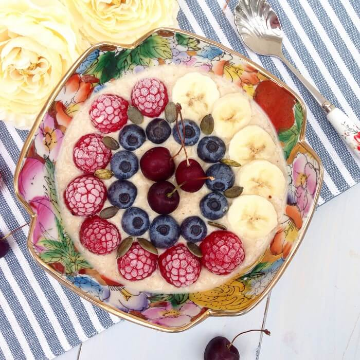 creamy caramel banana, spiced porridge, Winter Porridge Recipes, porridge recipes, breakfast recipes, healthy recipes, brunch recipes, healthy breakfast, oatmeal