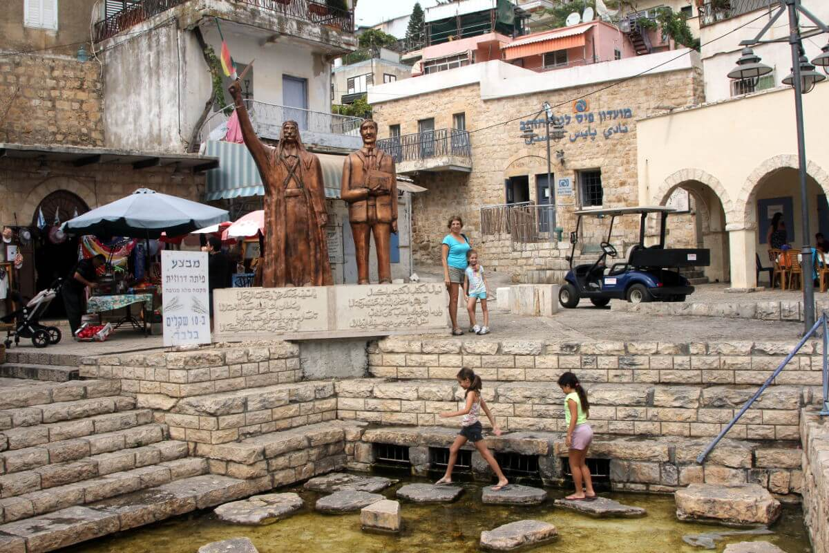 Mitzpe Hayamim Spa, Safed, Galilee, Israel, Israel Guide, Israel Travel Guide,  Druze Village