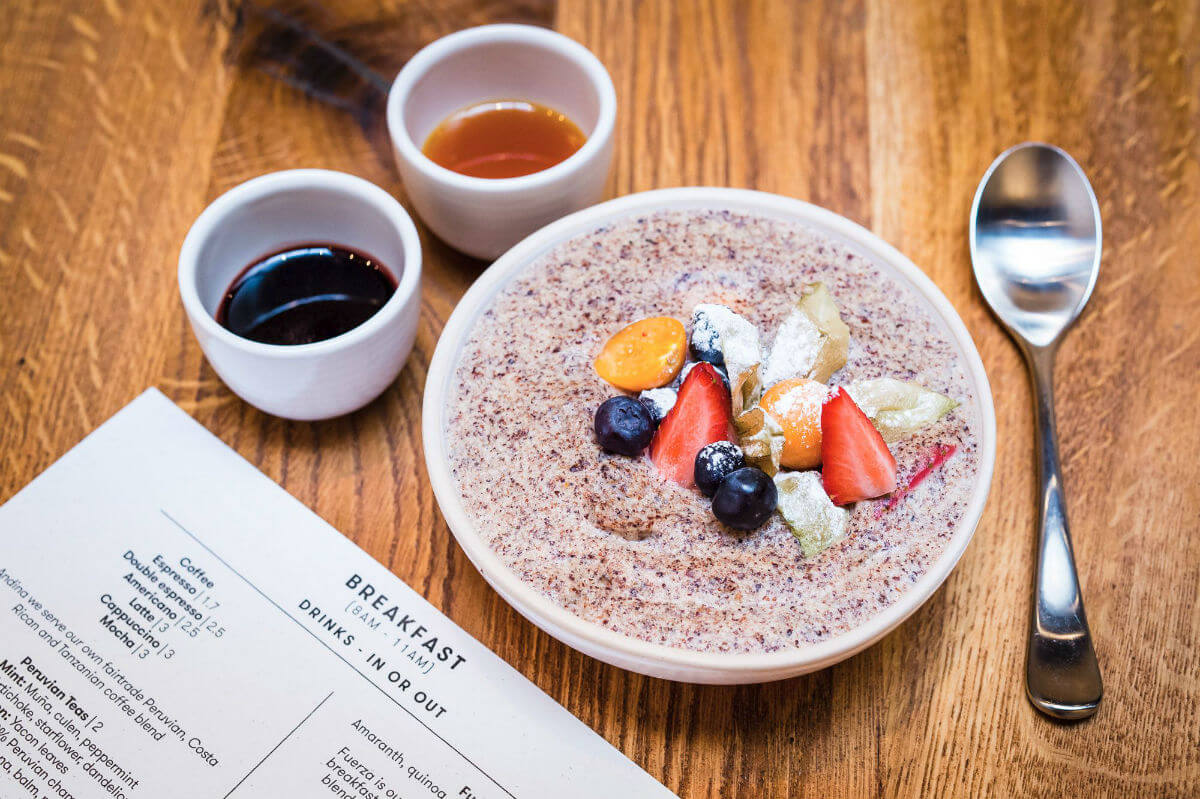 London's Best Quinoa Dishes