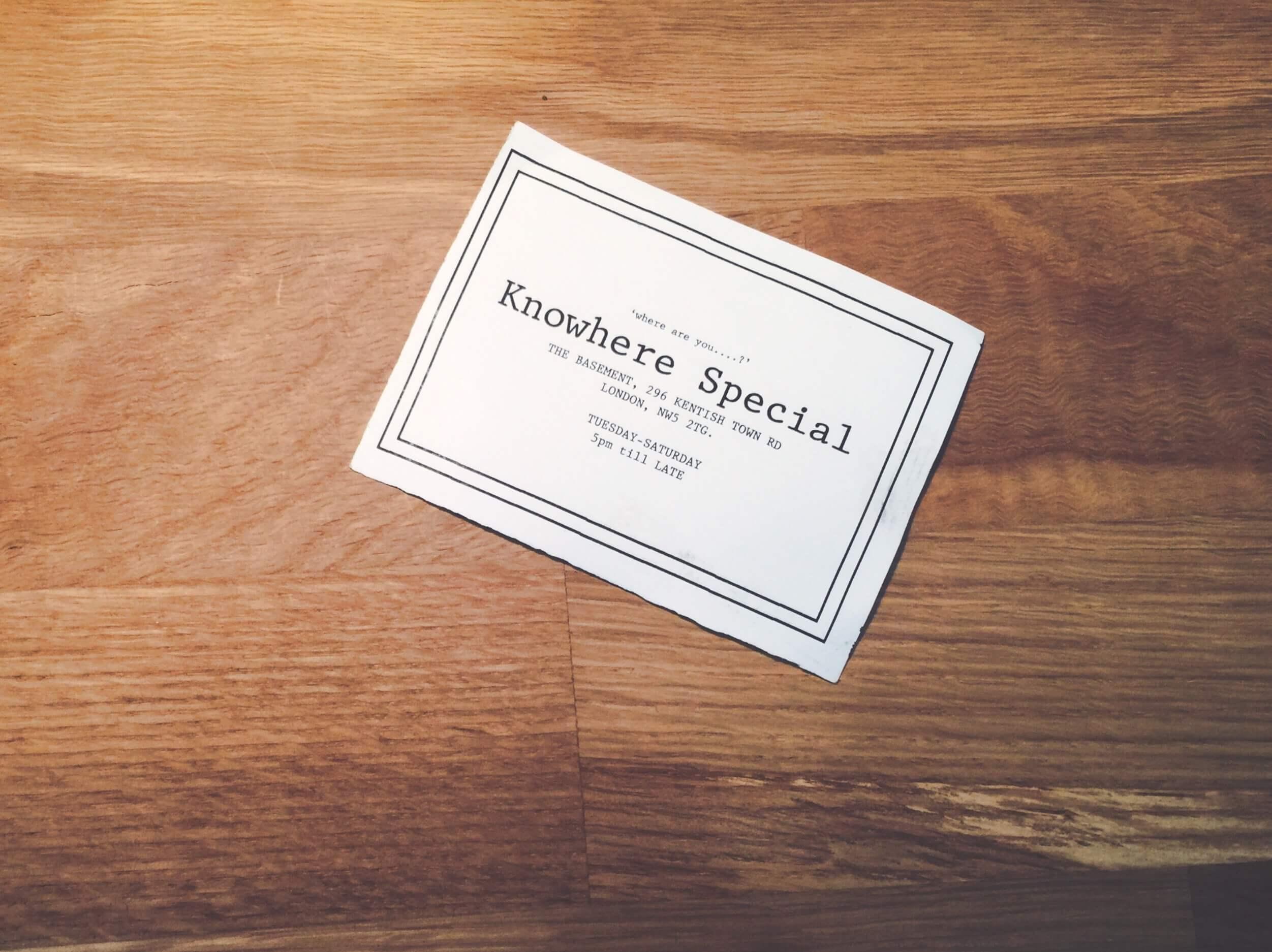 Knowhere Special 3 - photo credit Lauren Ingram