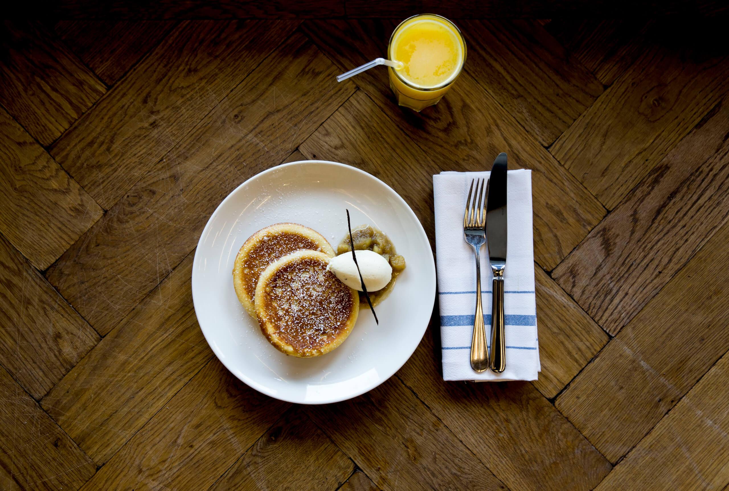 Tom's Kitchen- Pancakes
