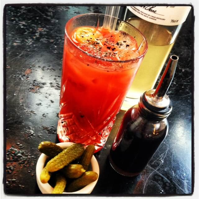Drink: Bloody Mary (£9) – Ketel One Citron vodka and fresh tomato ...