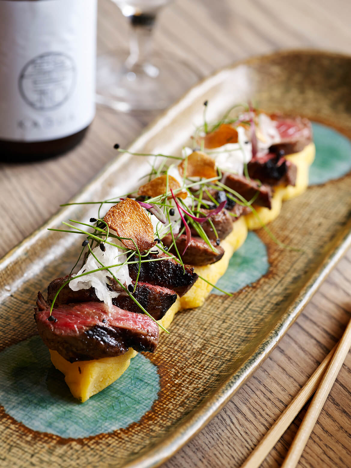 Beef Fillet, Daikon, Lemon