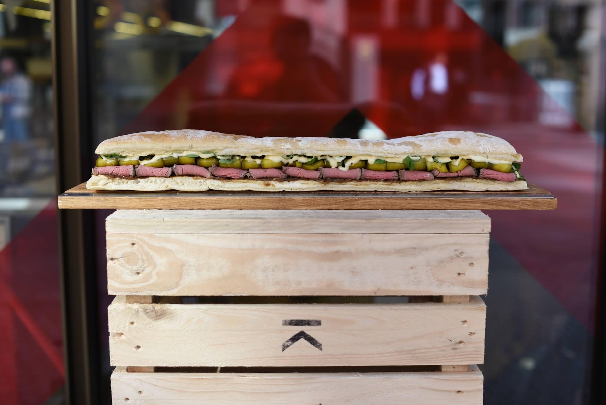 24 inch sandwich 1 (roast beef)