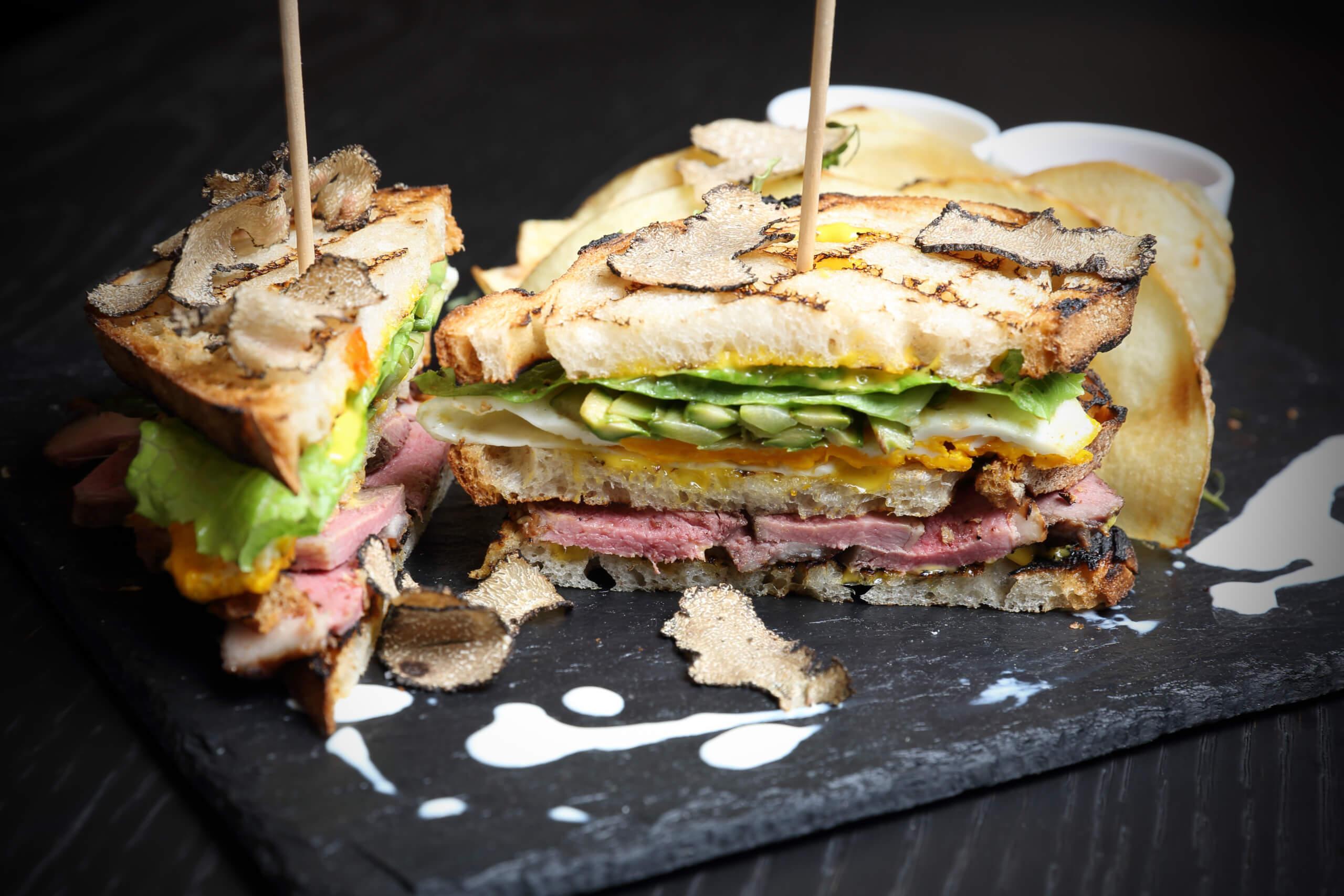 Duck club sandwich (2)