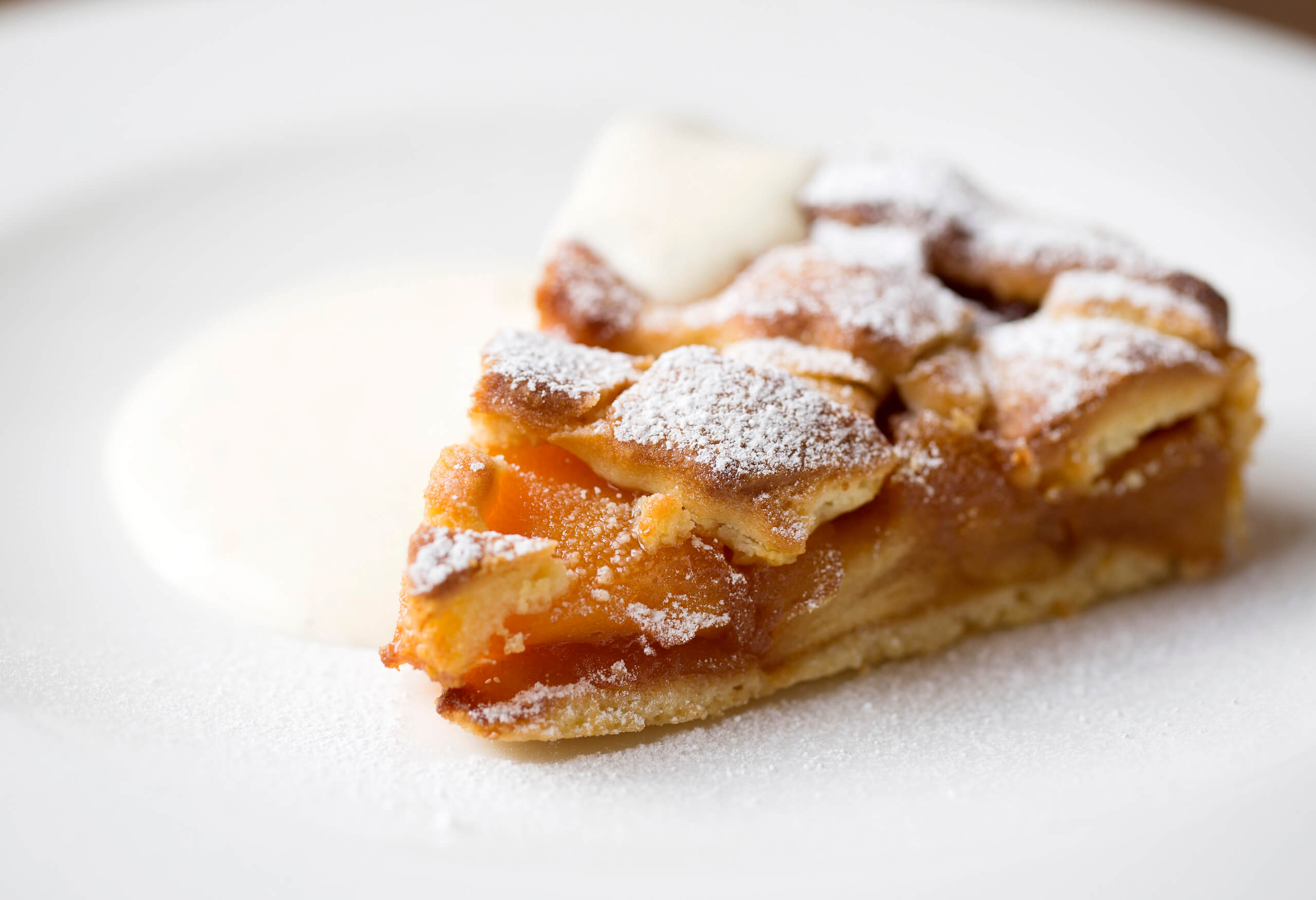 Apple Crostata - Cafe Murano - photo by JOHN CAREY