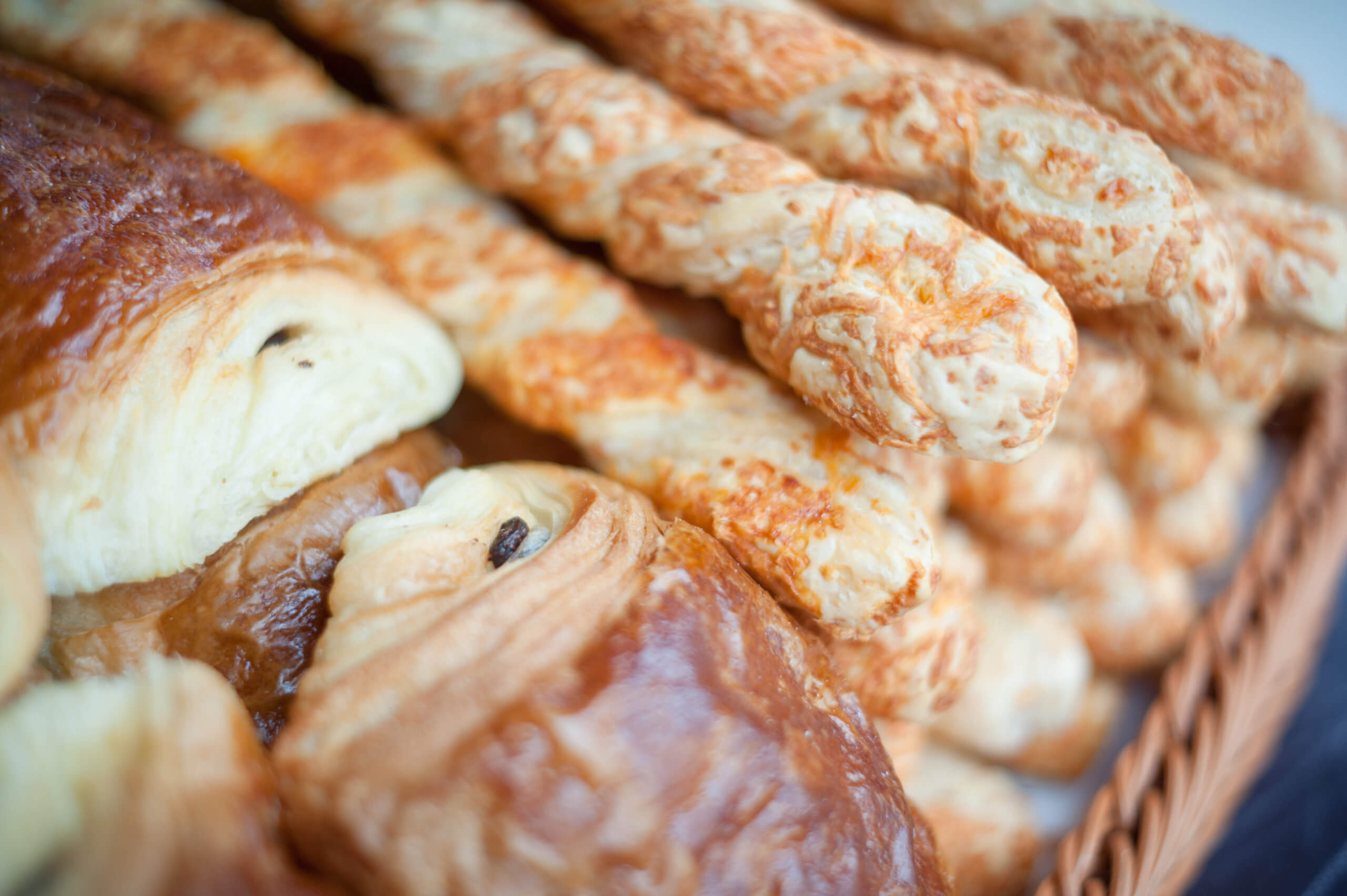 Primrose Hill Market - fresh breads and pastries