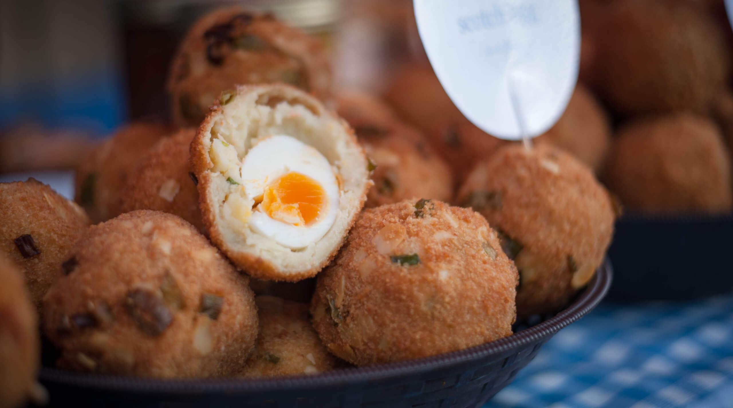 Primrose Hill Market - handmade scotch eggs