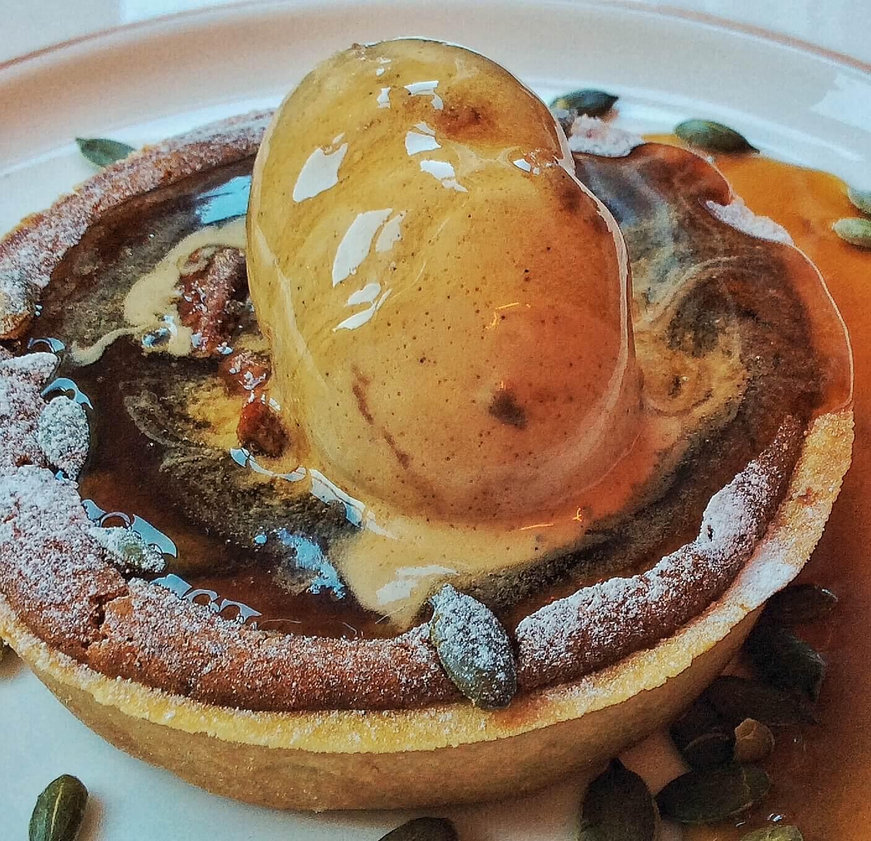 The Mount Street Deli Pumpkin Pie -Thanksgiving
