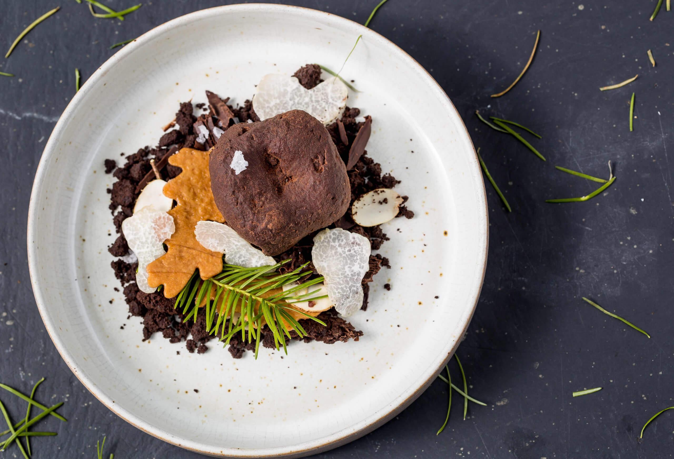 maze chocolate truffle dessert copy