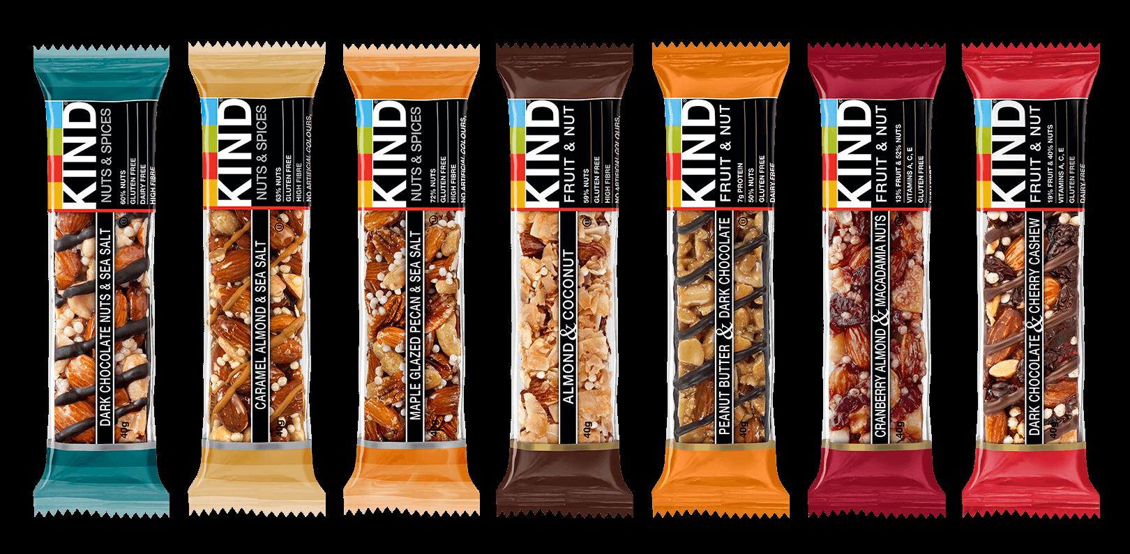 KIND bars range shot UK
