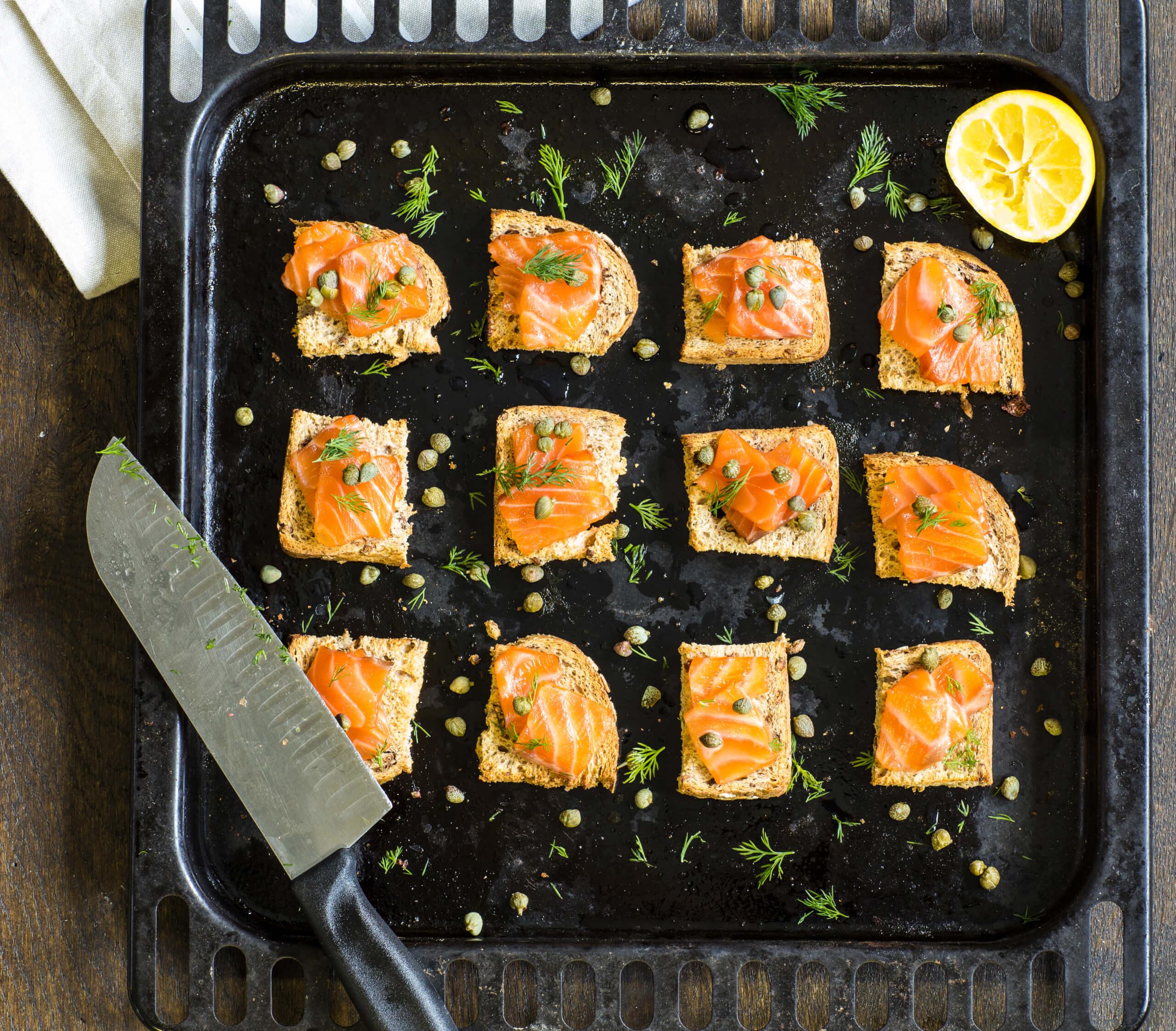 Nielsen-Massey's Vanilla Infused Salmon Fillets