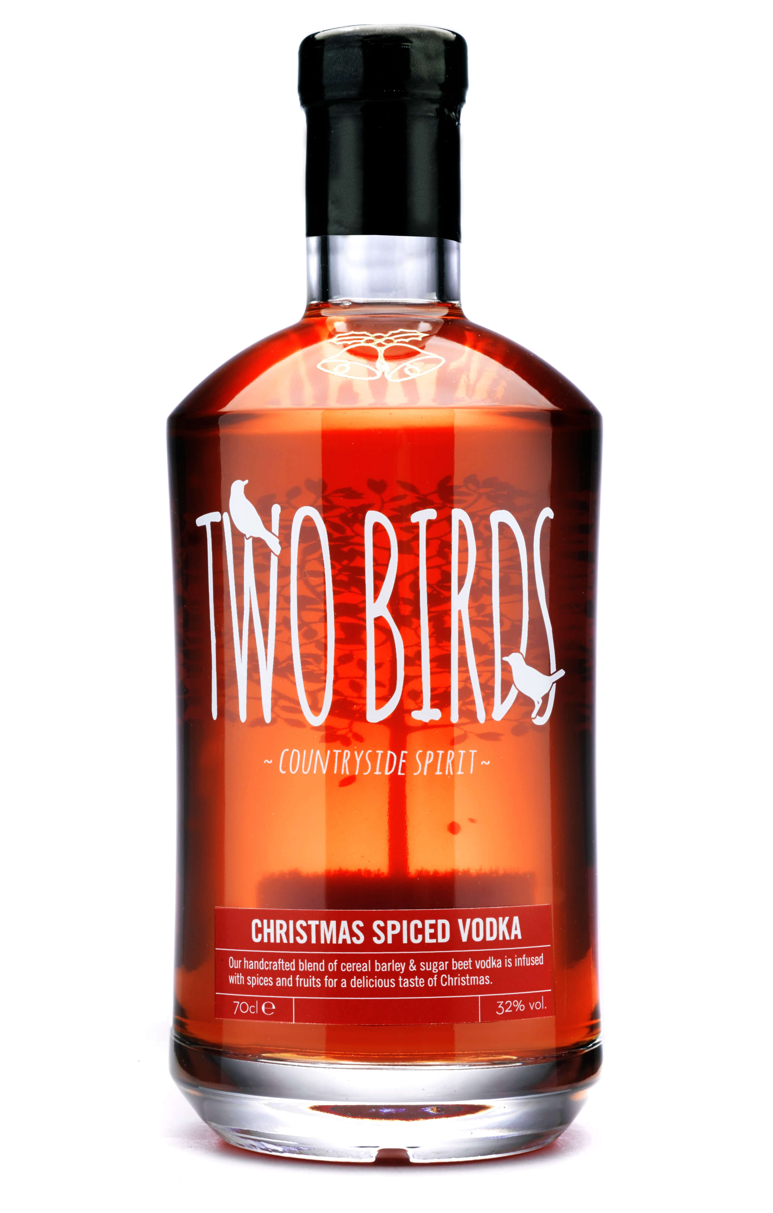 Two Birds Christmas Spiced Vodka 70cl