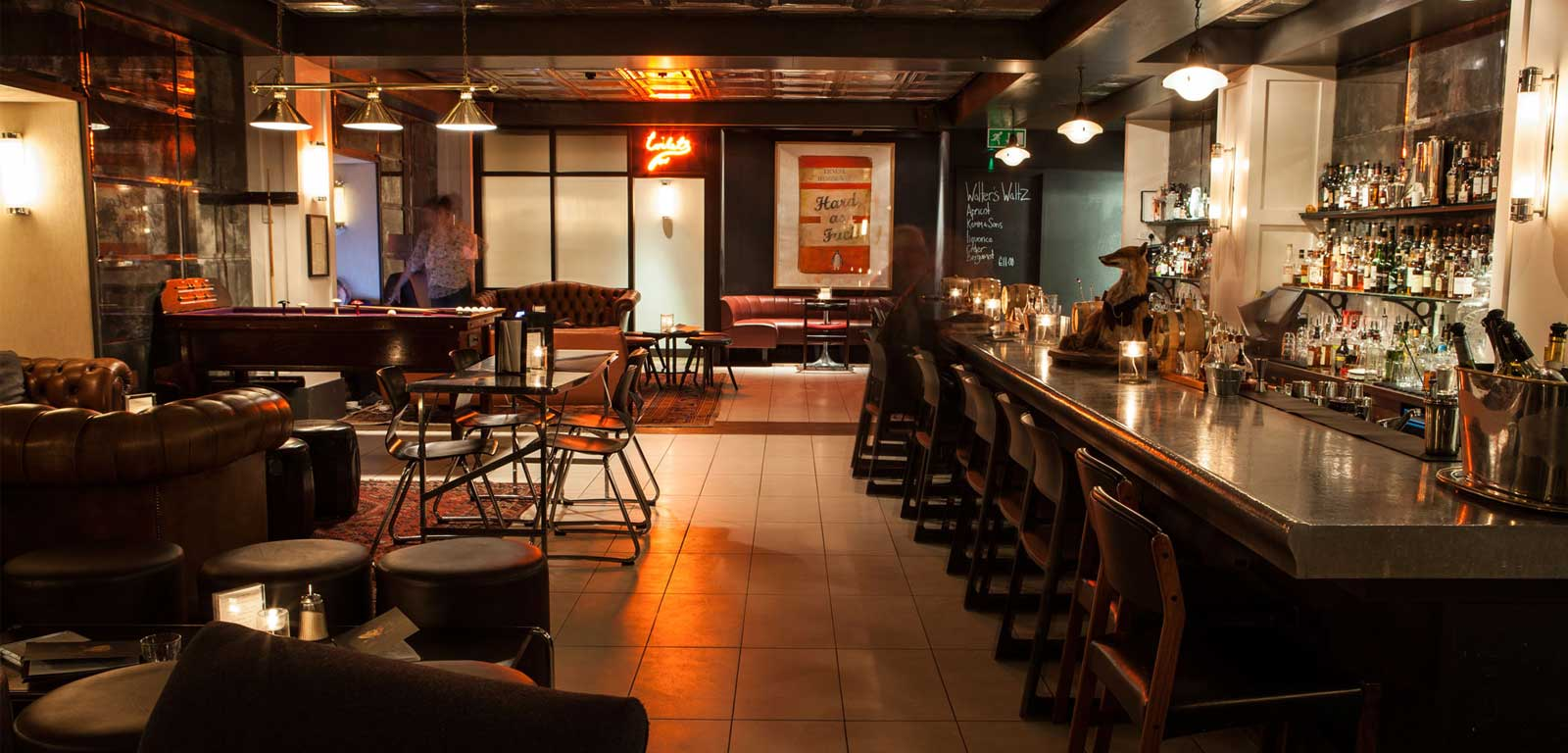 Soho Kitchen And Bar Menu