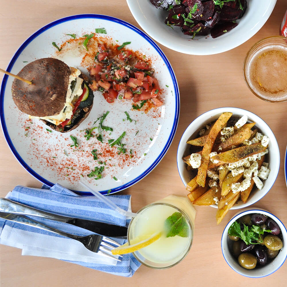 About time you tried london 39 s craziest dishes this month for Authentic greek cuisine