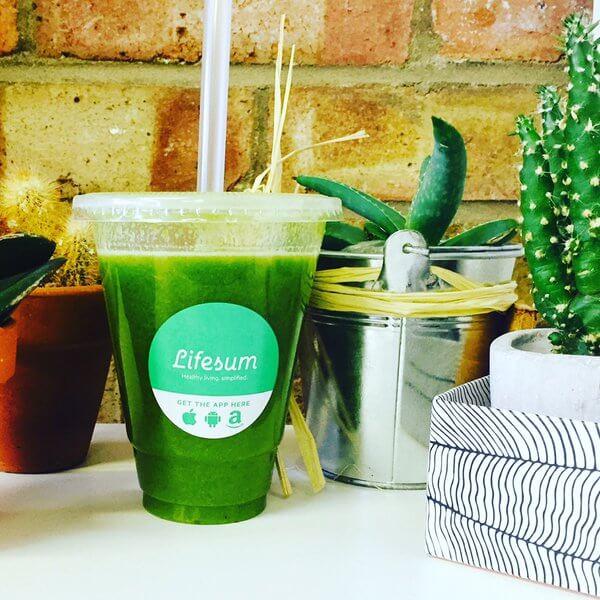 Lifesum Green - photo credit WeHeartLiving.com