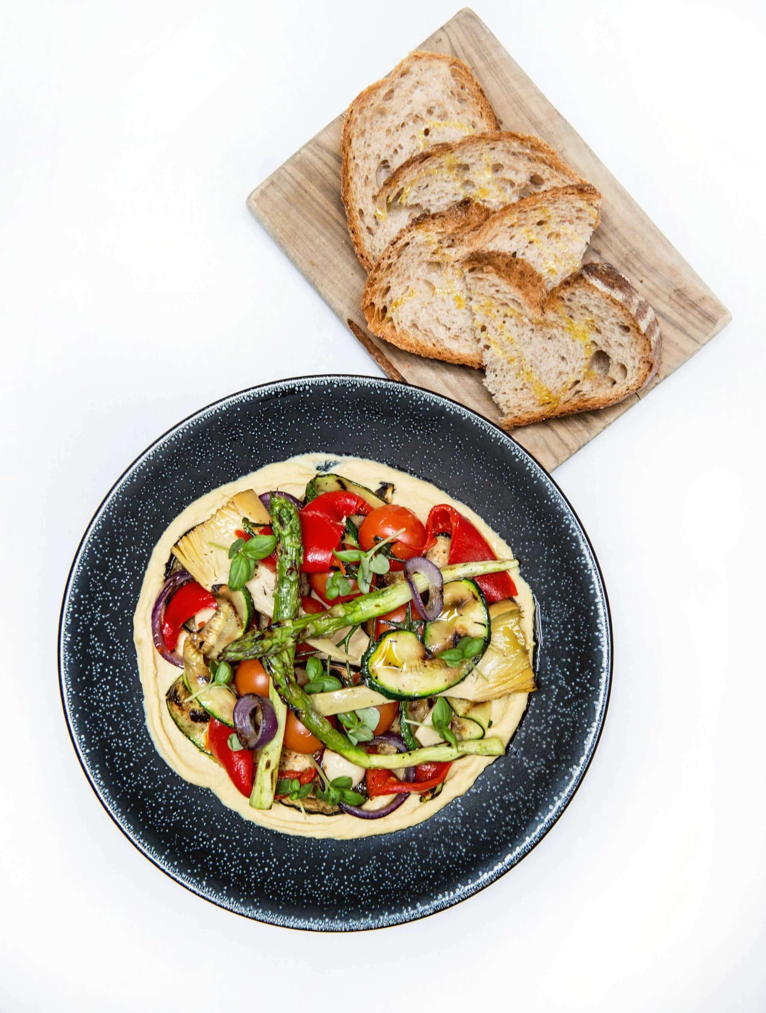 108 Brasserie - Josper grilled vegetable plate 1