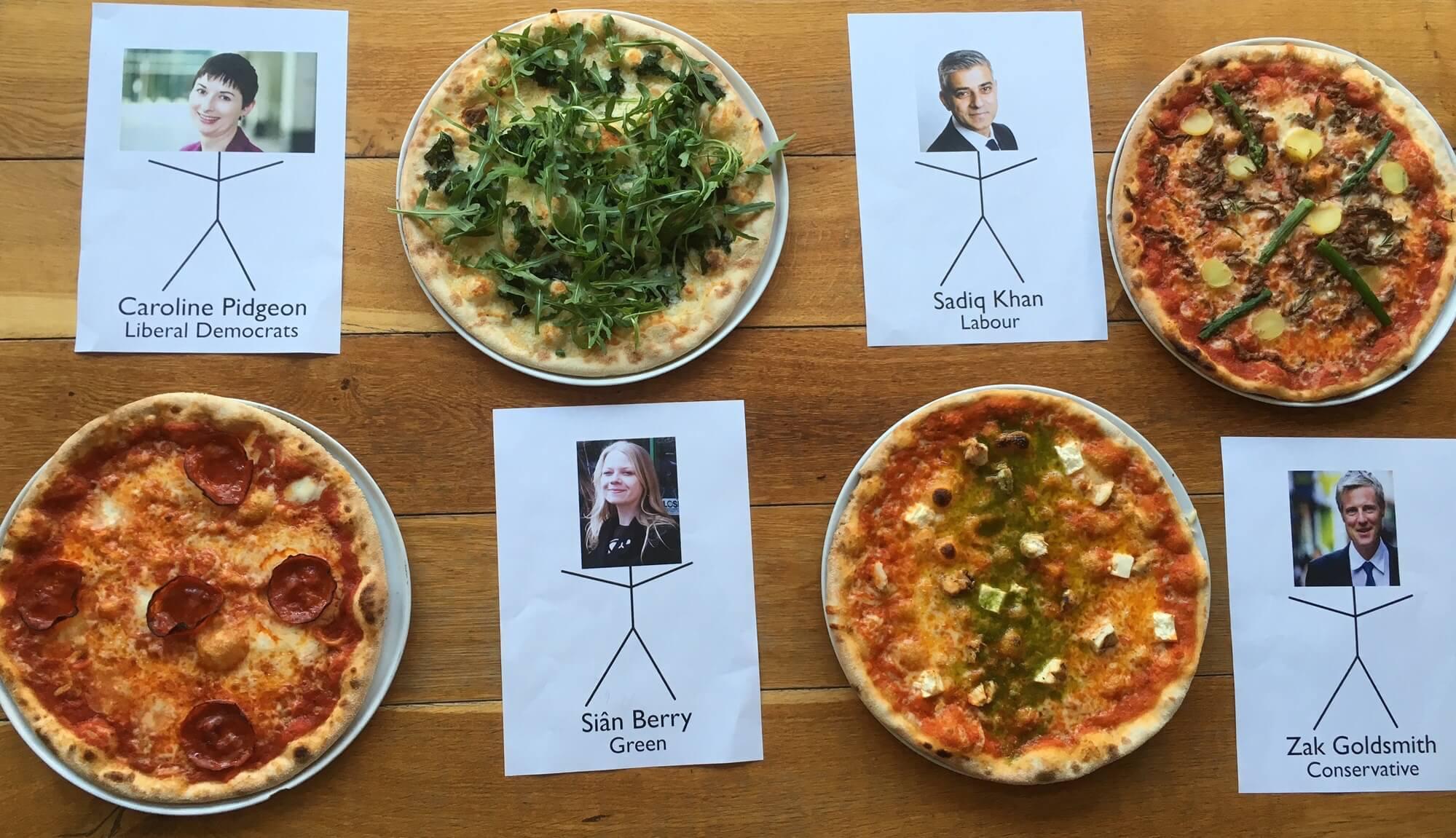 Election Pizzas