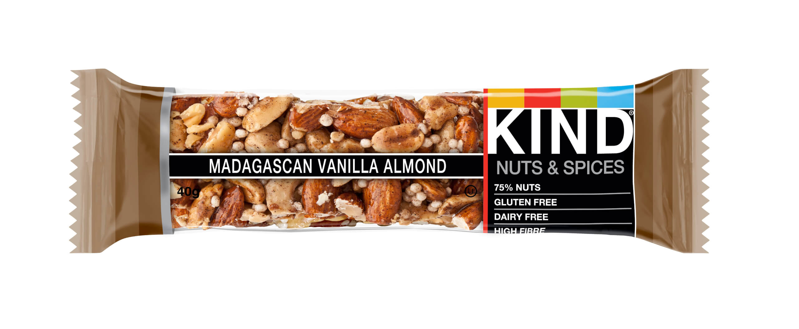 KIND Madagascan Vanilla Almond Bar