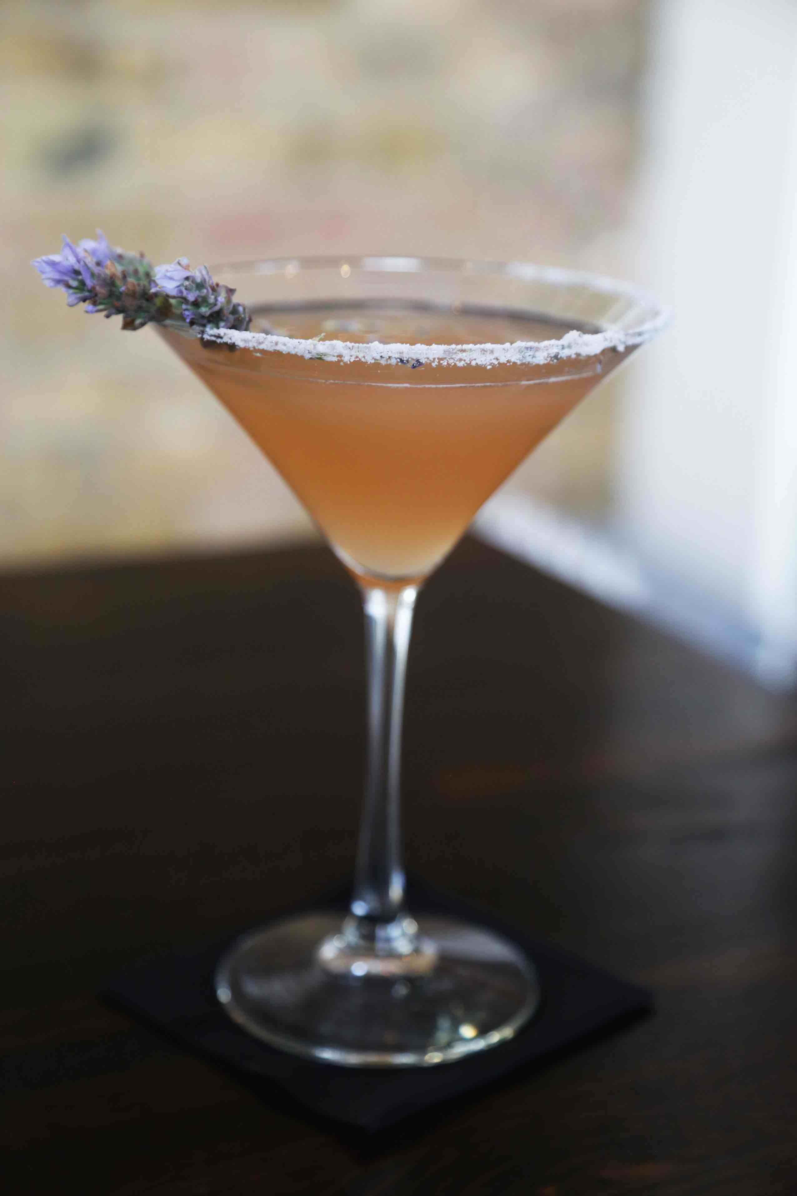 Lavender Paloma Cocktail