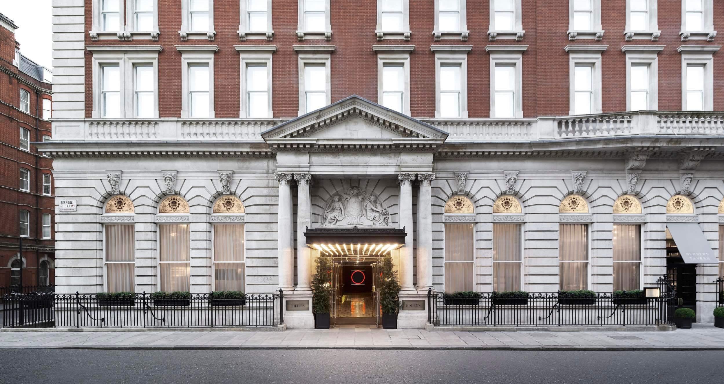 The London EDITION exterior - Please credit Nikolas Koenig