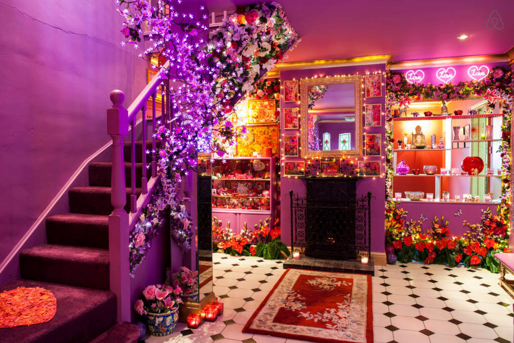 this totally pink house in Essex might be more your scene
