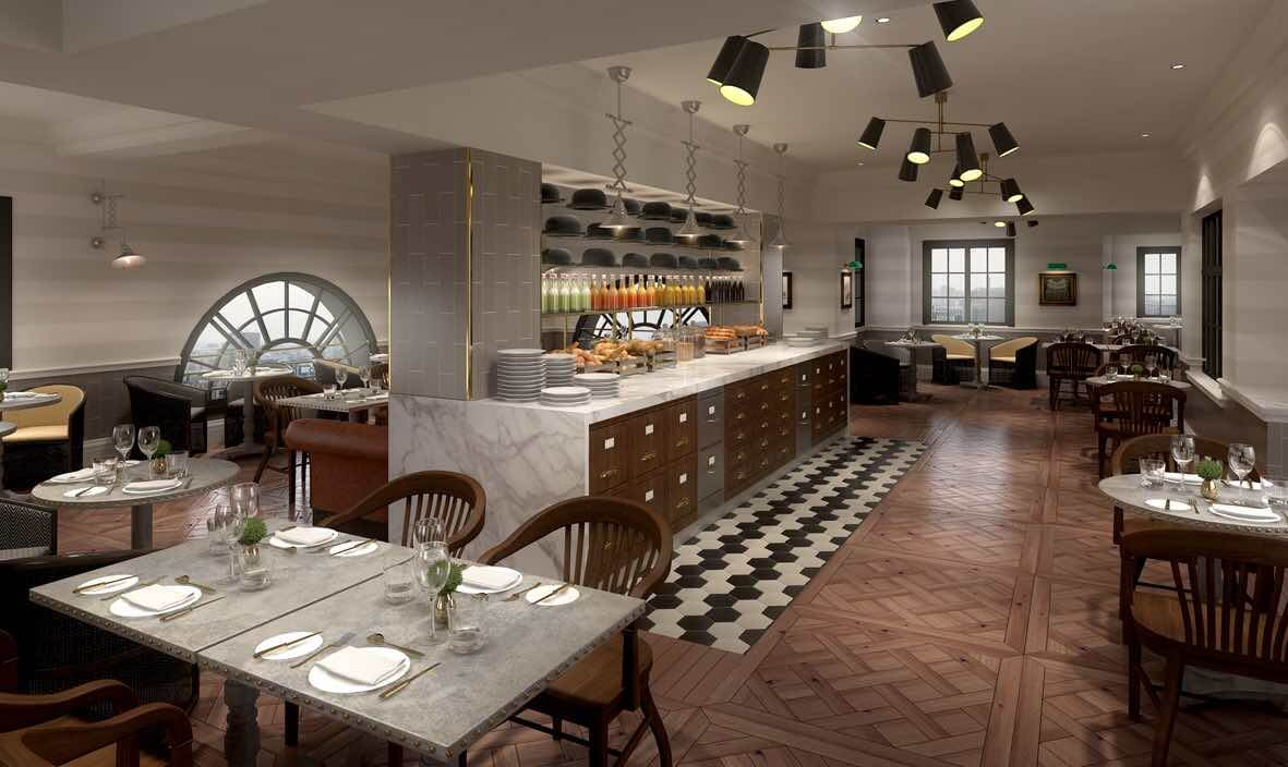 Top 5 uk 39 s best hotel breakfasts about time magazine for Best private dining rooms manchester